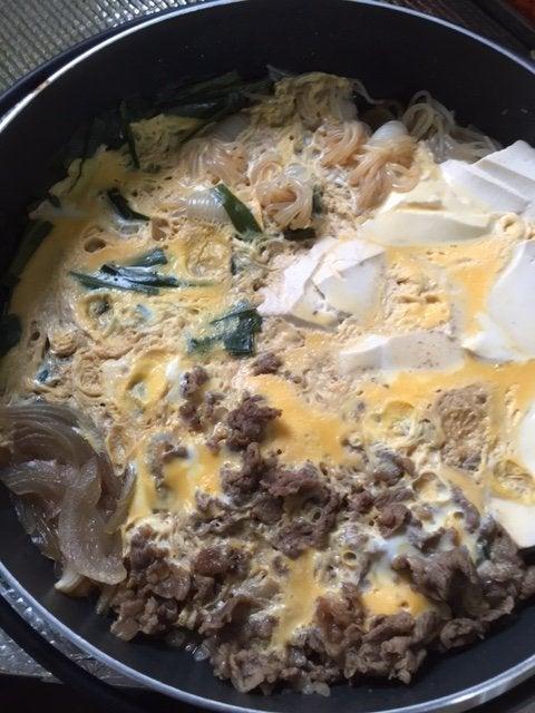 牛肉と豆腐を使ったニラ卵とじ_20160918