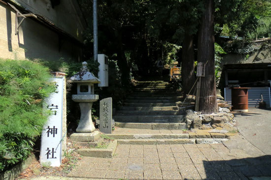 【写1】愛宕山城