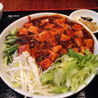 麻婆豆腐冷麺