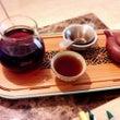 涼しい日はプーアル茶…