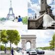 パリでフォトウェディ…