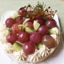 お誕生日ケーキと明日…