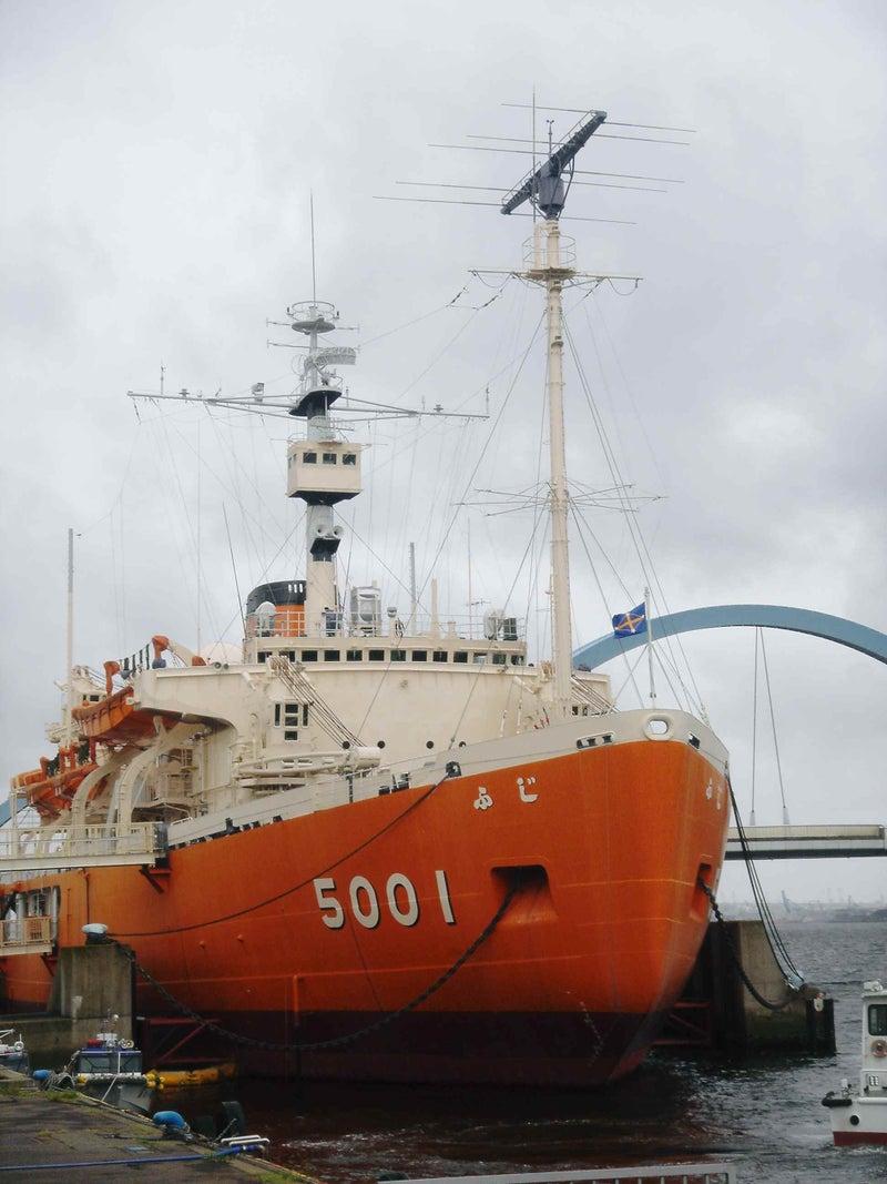 南極観測船「ふじ」
