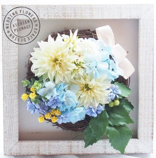 結婚式両親贈呈用花手作りのギフトレッスン