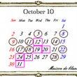 10月のレッスンスケ…