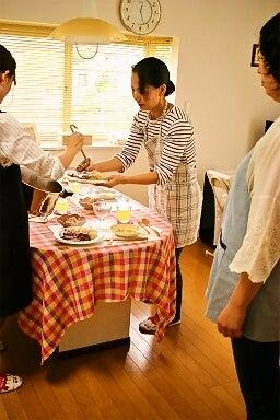 柏オーガニック料理教室 盛り付け