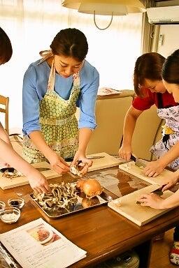 柏オーガニック料理教室 ハッシュドビーフ 野菜