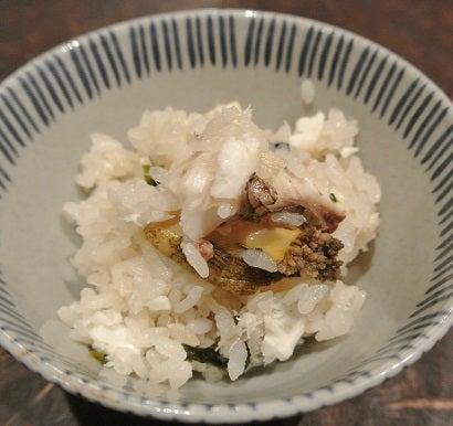 銀座たまさか 鮑と鯛の炊き込みご飯2