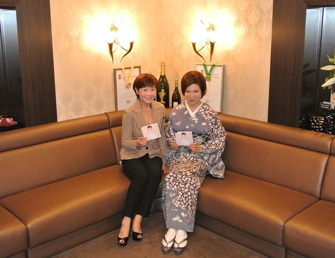 銀座クラブ由美 神野美伽さん&伊藤由美ママ