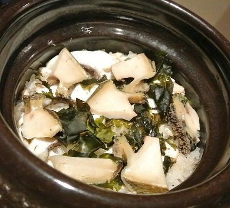 銀座たまさか 鮑と鯛の炊き込みご飯