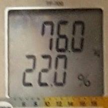 今日の体重と、見ない…