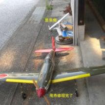 村長の飛燕戦闘機再墜…