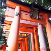 雨女、京都へ行く