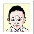 恵 俊彰さんの似顔絵