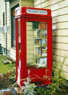 2電話ボックス図書館