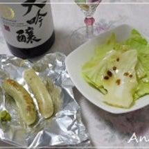 ☆日本酒とサルシッチ…
