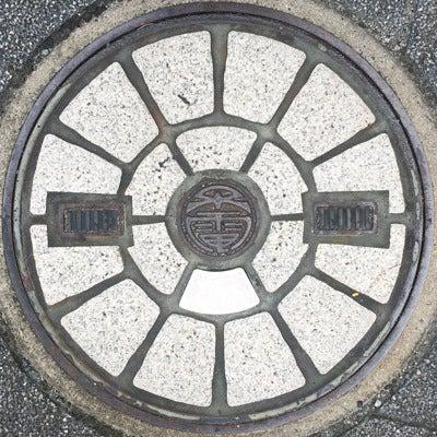 大阪市営交通局タイルマンホール