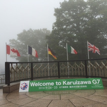G7交通大臣会合☆軽…