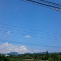 今日の庭から〜空〜