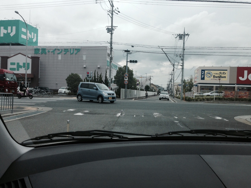 170号ニトリ前 北大阪ペーパードライバー