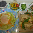鶏ムネ肉で野菜炒め☆…