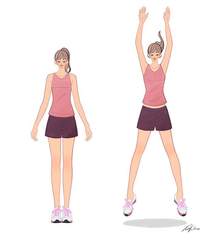 エクササイズ 跳躍 体操
