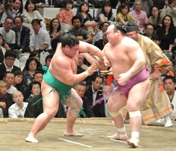 大相撲九月場所十三日目 嘉風vs宝富士