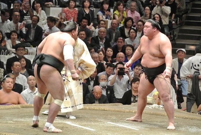 大相撲九月場所十三日目 日馬富士vs豪栄道