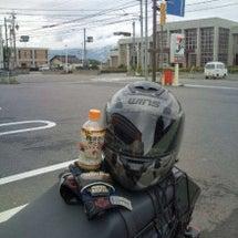 おニューのヘルメット…