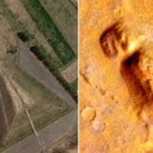 【画像】火星で古代日…