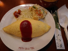 パンチ(オムライス+のっけポテサラ)