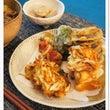 牛丼と天ぷら