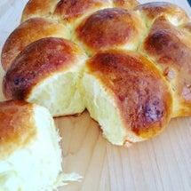 手作りのちぎりパン^…