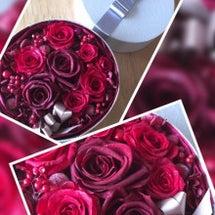 ルビー婚へ贈る花