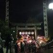 町田天満宮のお祭りで…