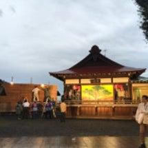 菅田神明大祭で歌いま…