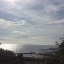 今朝の答志島大間の浜…