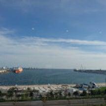 北海道苫小牧港視察 …