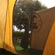 キャンプ。