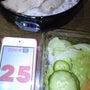 25日の食事夜写真