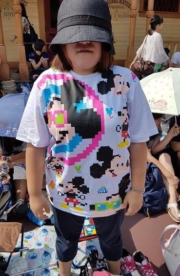 8bit調のTシャツ その2
