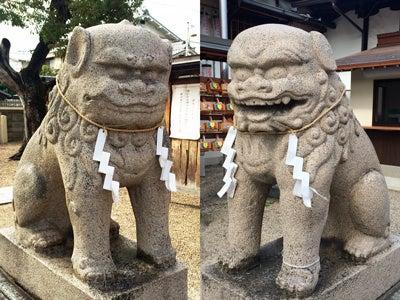 志紀長吉神社狛犬