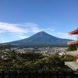 富士山初雪化粧