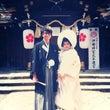 桜の結婚指輪と美男美…