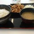 豚生姜焼定食   吉…