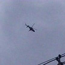 大量のヘリコプターが…
