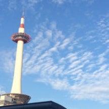 いろいろな空と京都タ…