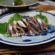秋刀魚のお刺身定食。
