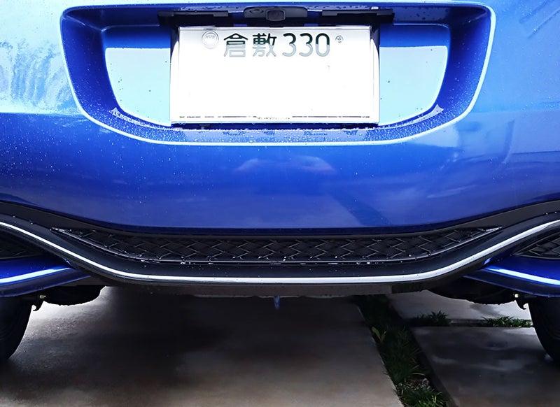 CR-Z ファイナルレーベル 後部