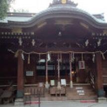 愛猫の守護神社へ